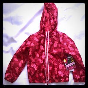 Pink Platinum Hooded Jacket